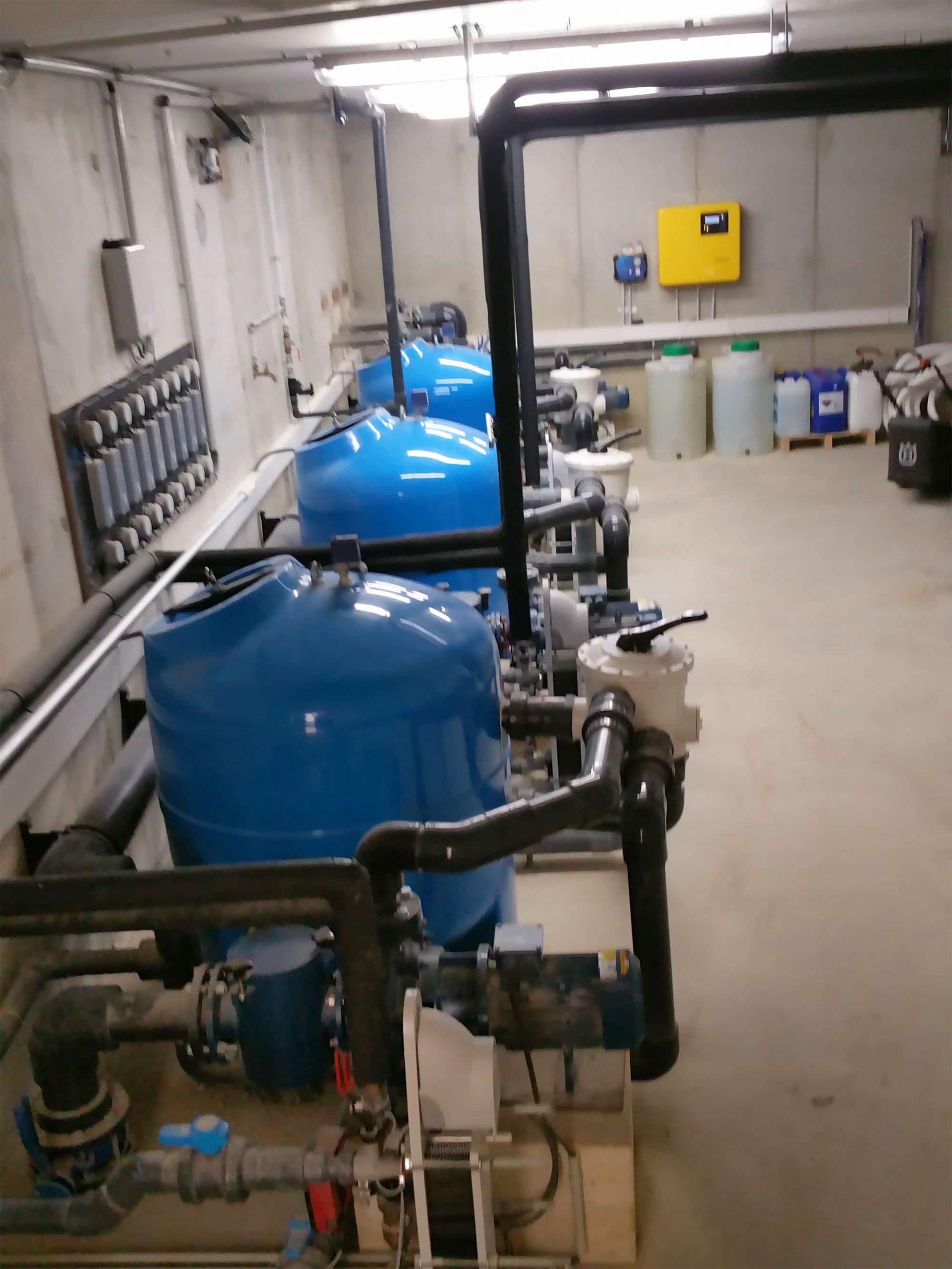 Système de filtration pour une eau propre