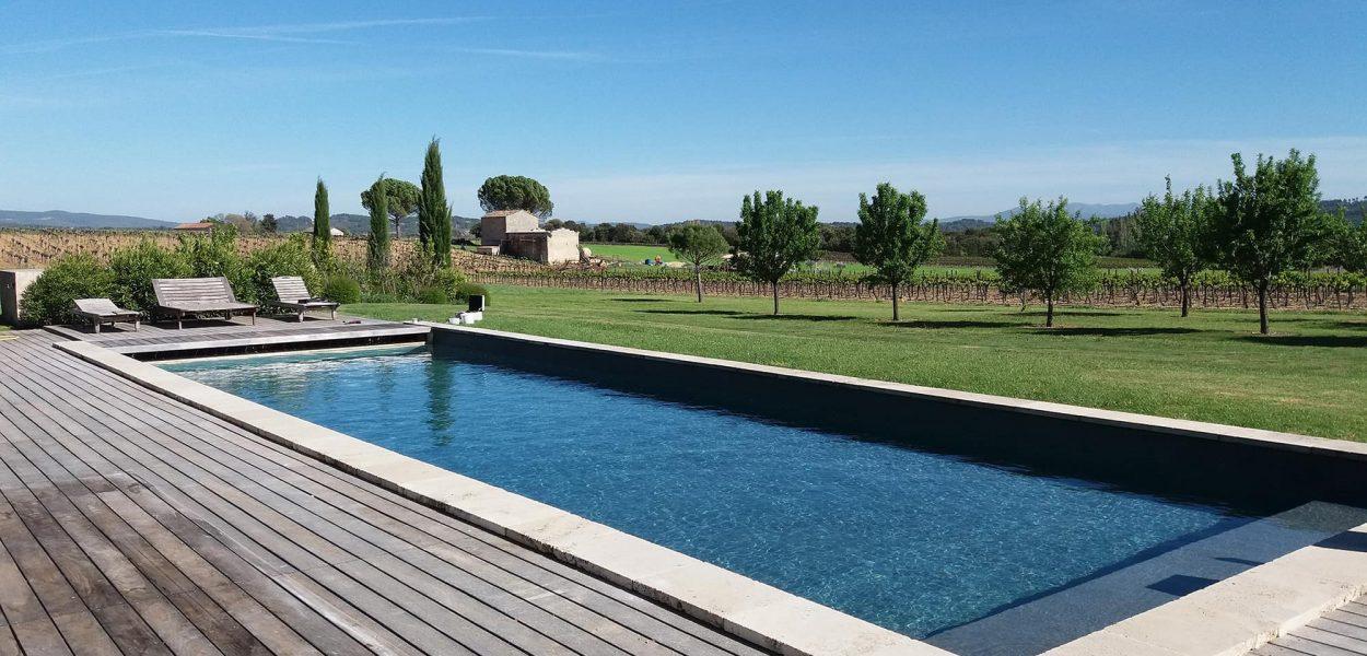 Style provençal piscine 15x15